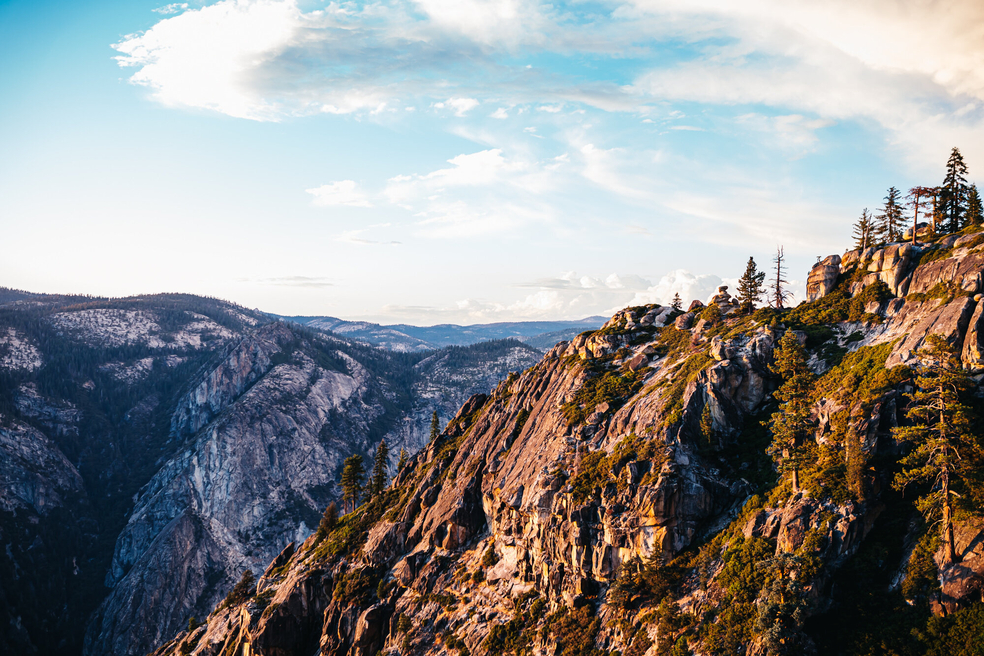 Yosemite National - Park Taft Point