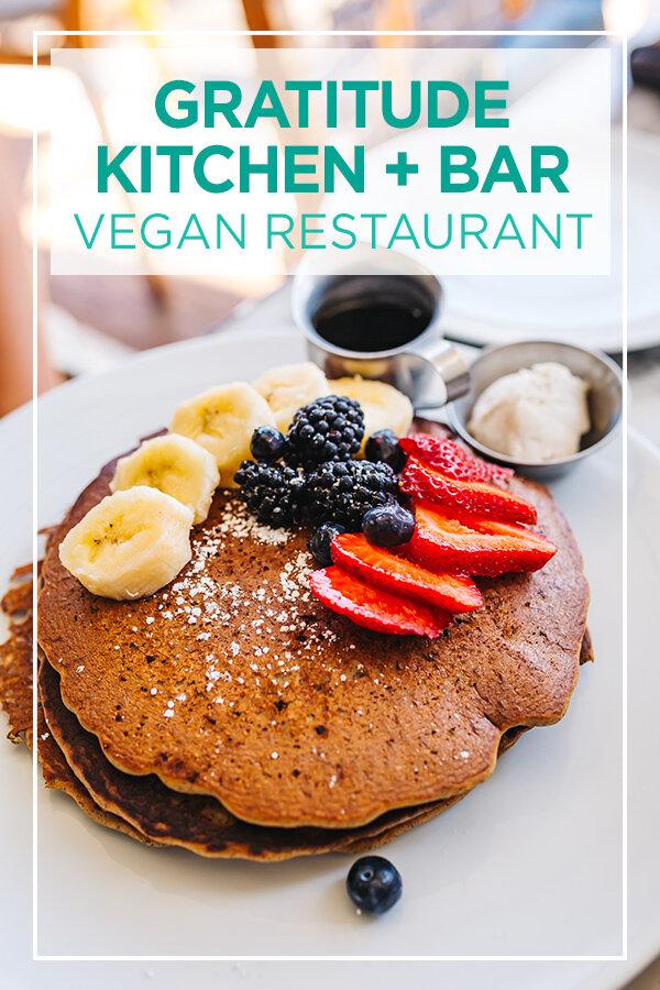 Gratitude Kitchen + Bar #vegan #beverlyhills #california