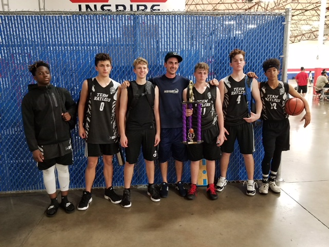 15U finishes the season as runner up at the Inspire Courts (7/21/2018)