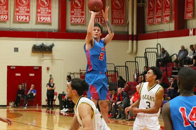 Former AZU captain, Kyle Fisher, is now making big noise as a freshman starter at Mesa CC. (12/1/2018)