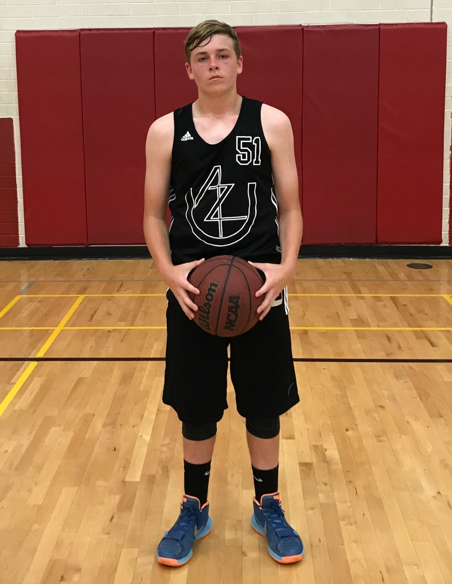 14U Forward Connor Oless was voted as the Player of the Week (POW) by his coaches at the Arizona Revolution Invitational. He had an impressive performance on both sides of the court highlighted with relentless rebounding and solid offensive production. Ultimately it was his attitude and effort that earned Oless the POW honors. . (6/2017)