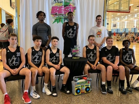 Arizona United's 2023 boys fought hard but came up three baskets short against a formidable Team RHJ in this weekend's Phx Is Rising gold bracket championship game. (8/11/19)