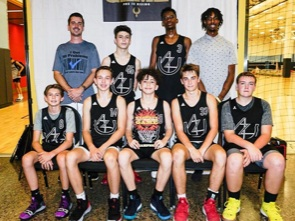 A few new faces but the same result for these AZU boys in their third Phx Is Rising tournament. These young men played up in the 15/16u division and came home with the consolation championship. Three tourneys and three trophies for this group thus far. Keep it up! (8/25/2019)