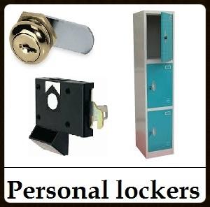 personal locker, cam lock, coin lock,