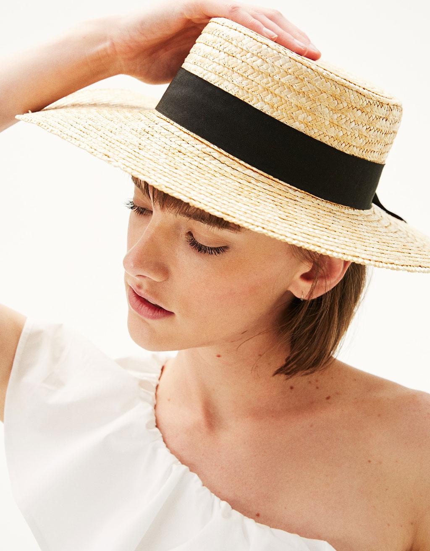 Bershka Wide-Brimmed Hat