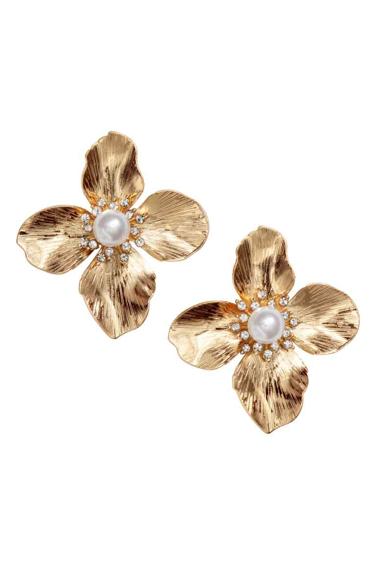 H&M Flower-Shaped Earrings