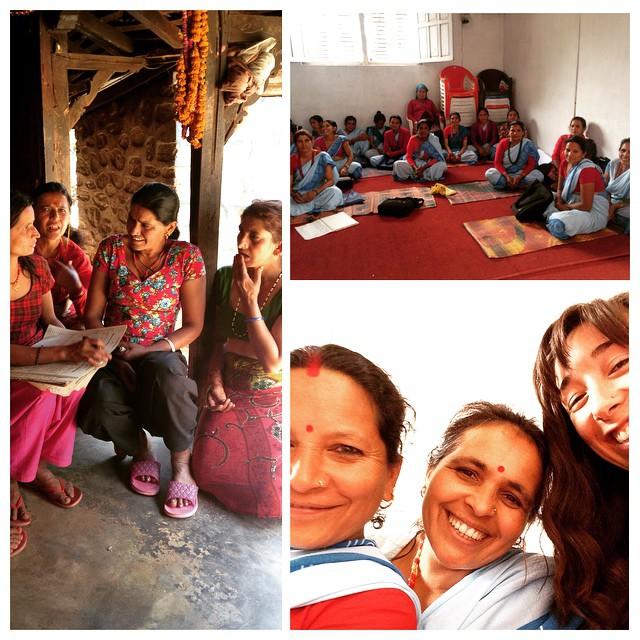 Women are powerful change makers in #karmidanda. Can't wait till we can actually understand each other's words! #empowerwomen #learntolisten #listentolearn #participatorydevelopment #healthworkerscount #vibrantvillage #selfie