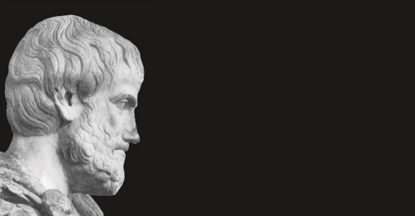 Aristotle, from the days when everyone had one name and was made of white stone.