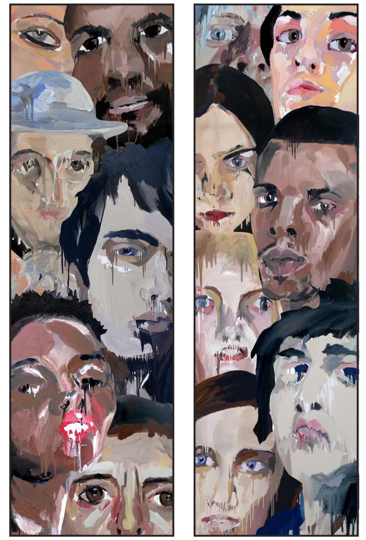 Strata foyer collage
