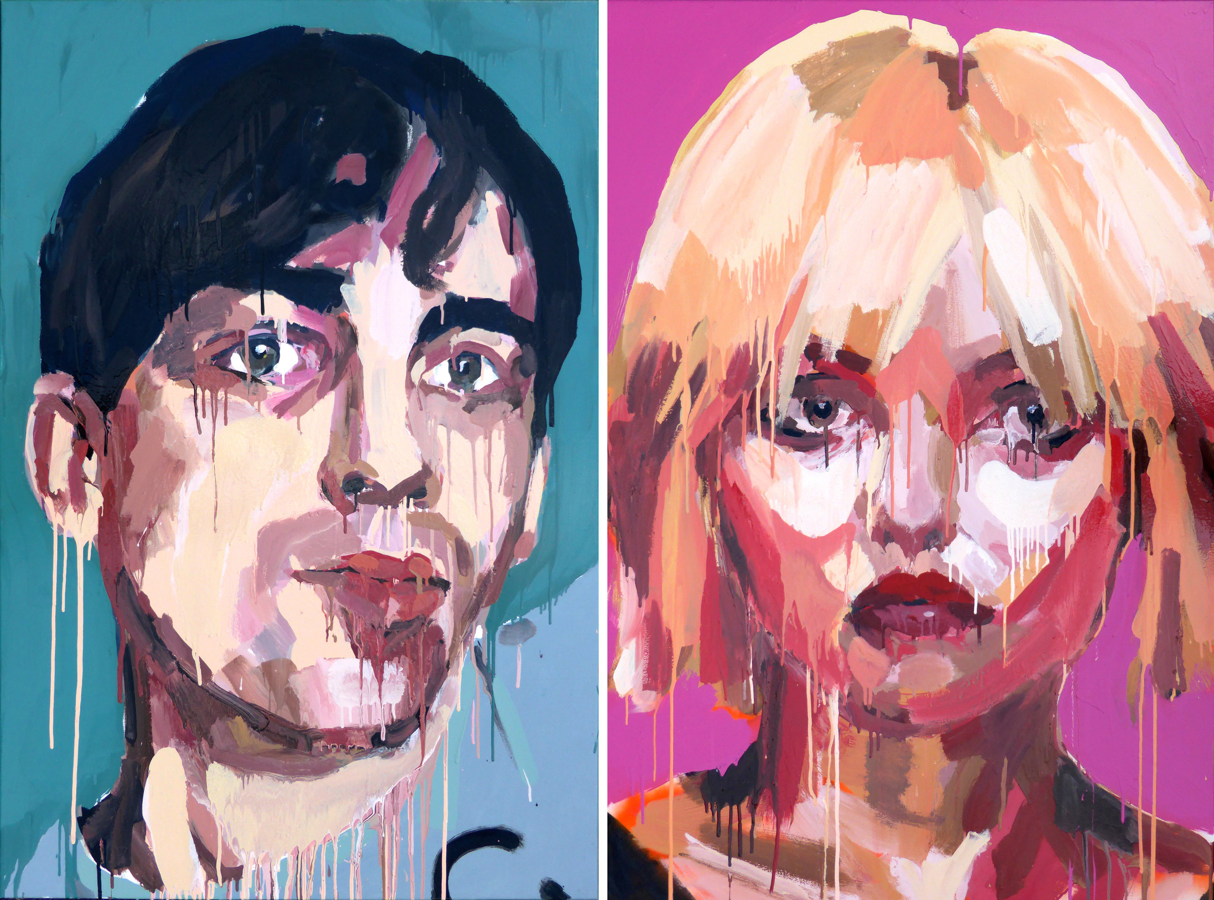 Blondie: Debbie Harry and Chris Stein: 11:59 1978