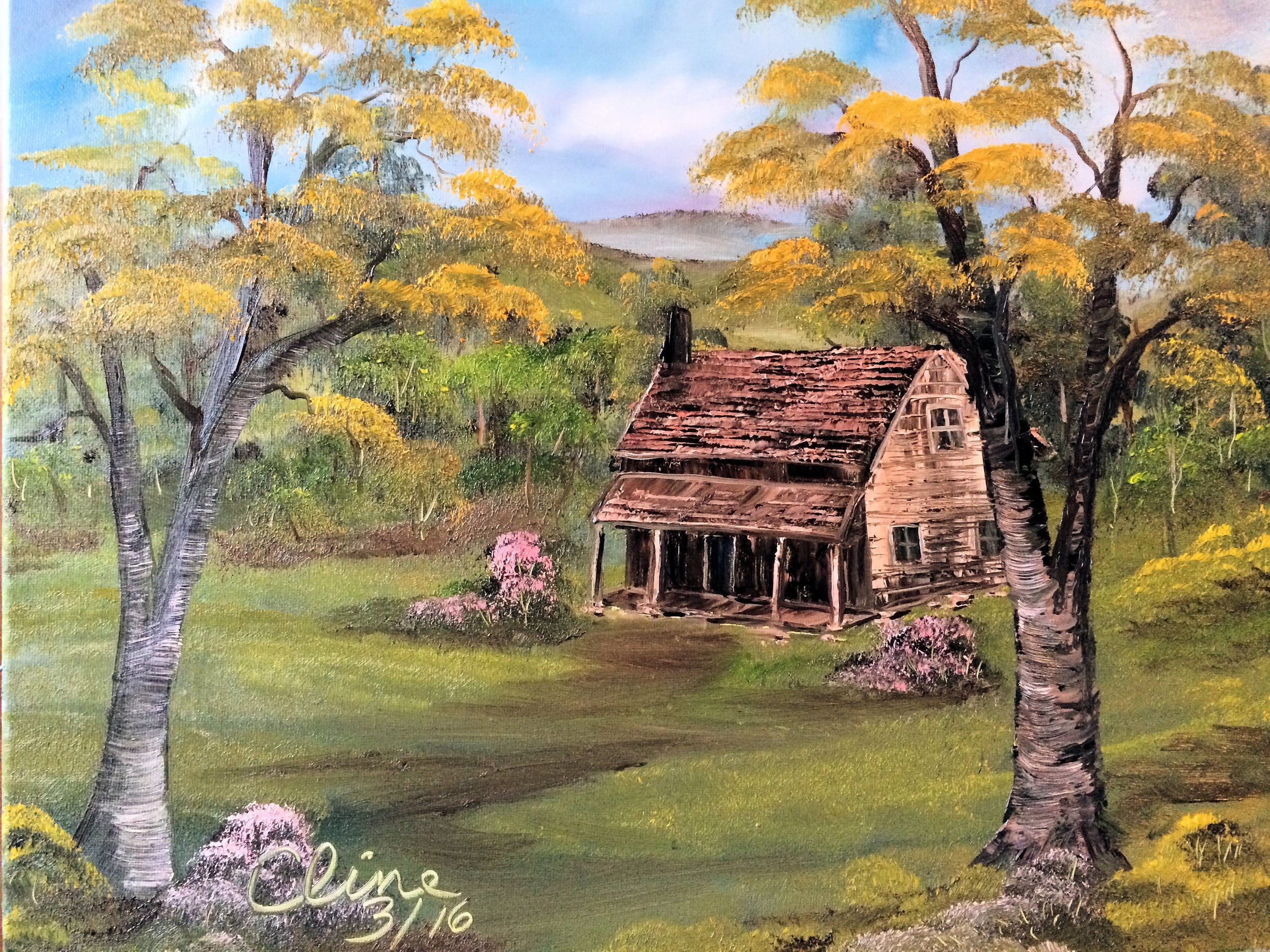 """""""Old Rugged Mountain Home"""""""