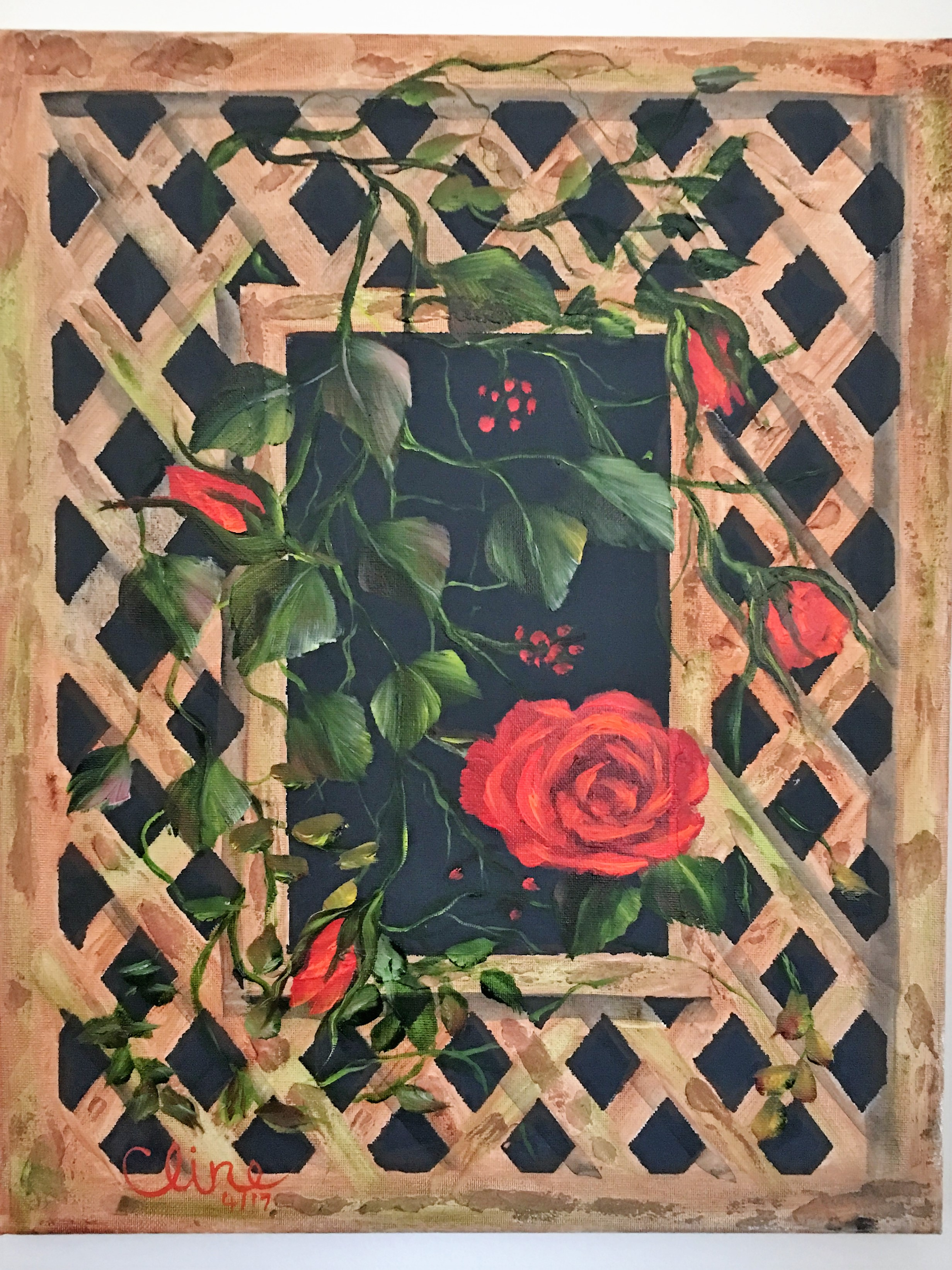 """""""Trellis Rose"""""""