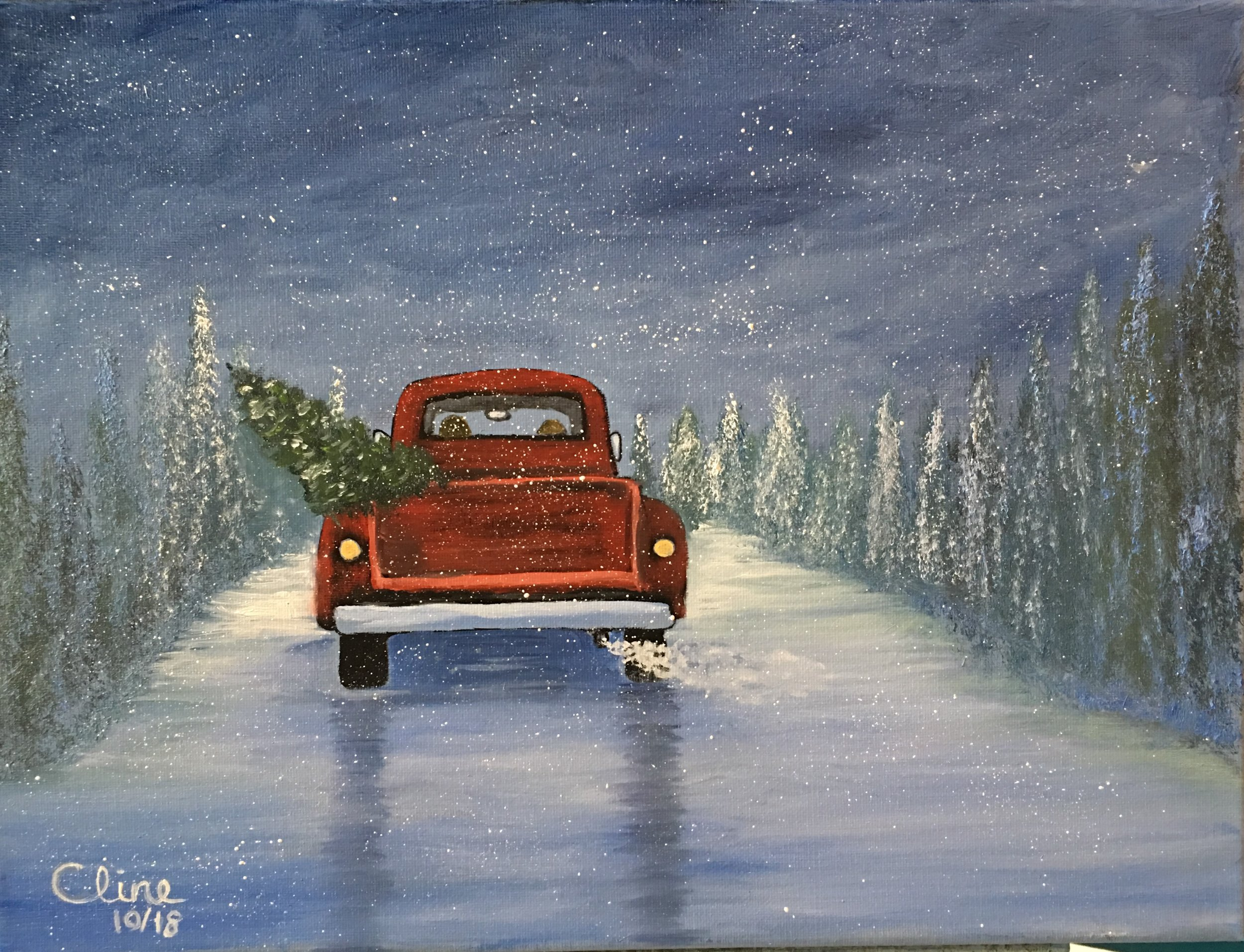 """""""Bringing Home the Tree"""""""