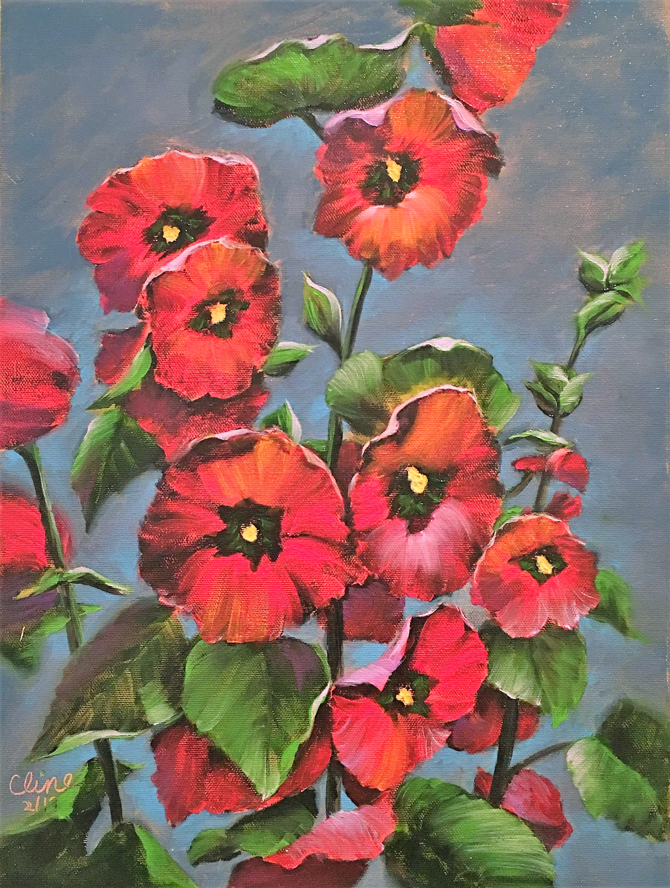 Red Hollyhocks.JPG