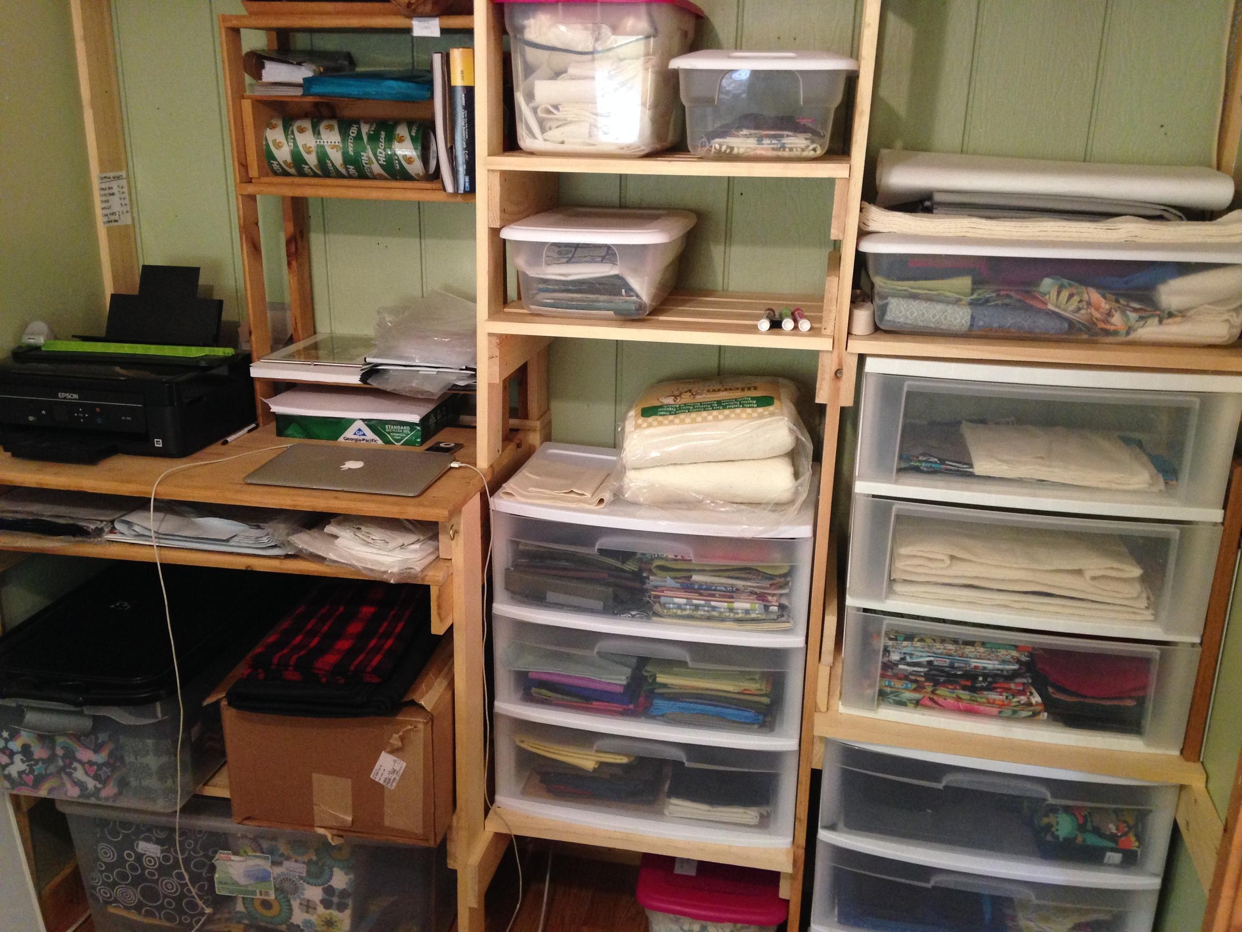 My cozy workspace