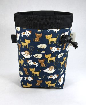 a928725f246 Cat Chalk Bag, Navy