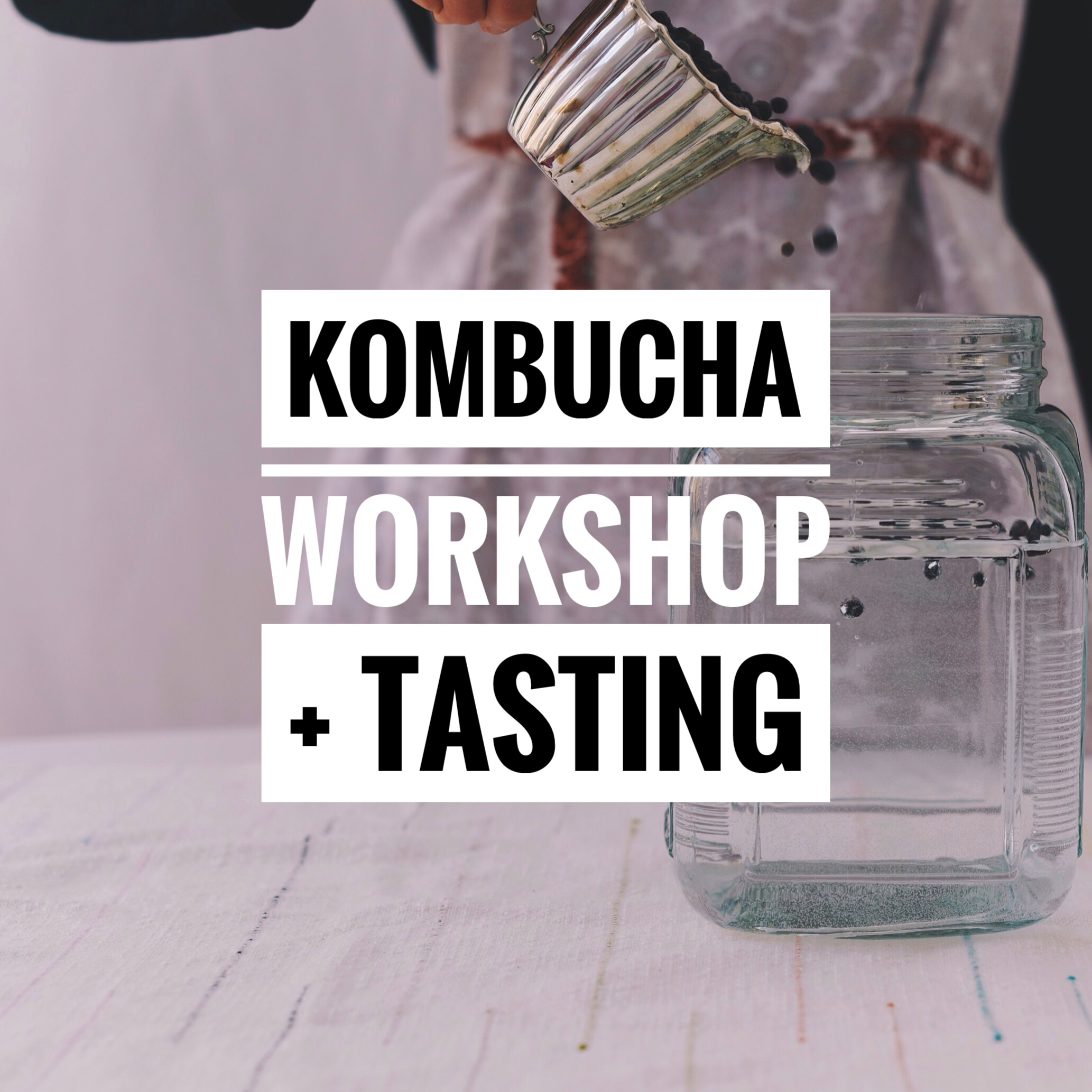 Learn how to make the tasty fermented tea at home! Check out  Mandala Studio  for details.