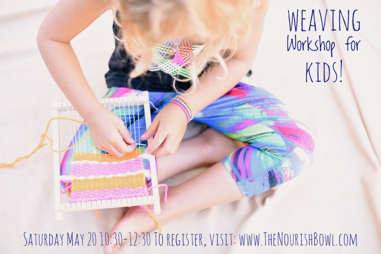 Weaving workshop for kids in Mill Valley at    Once Around    Kids make the most amazing weaving projects. In this workshop they will use a variety of hand selected yarn to design and create a unique woven wall hanging.  Sign up here!