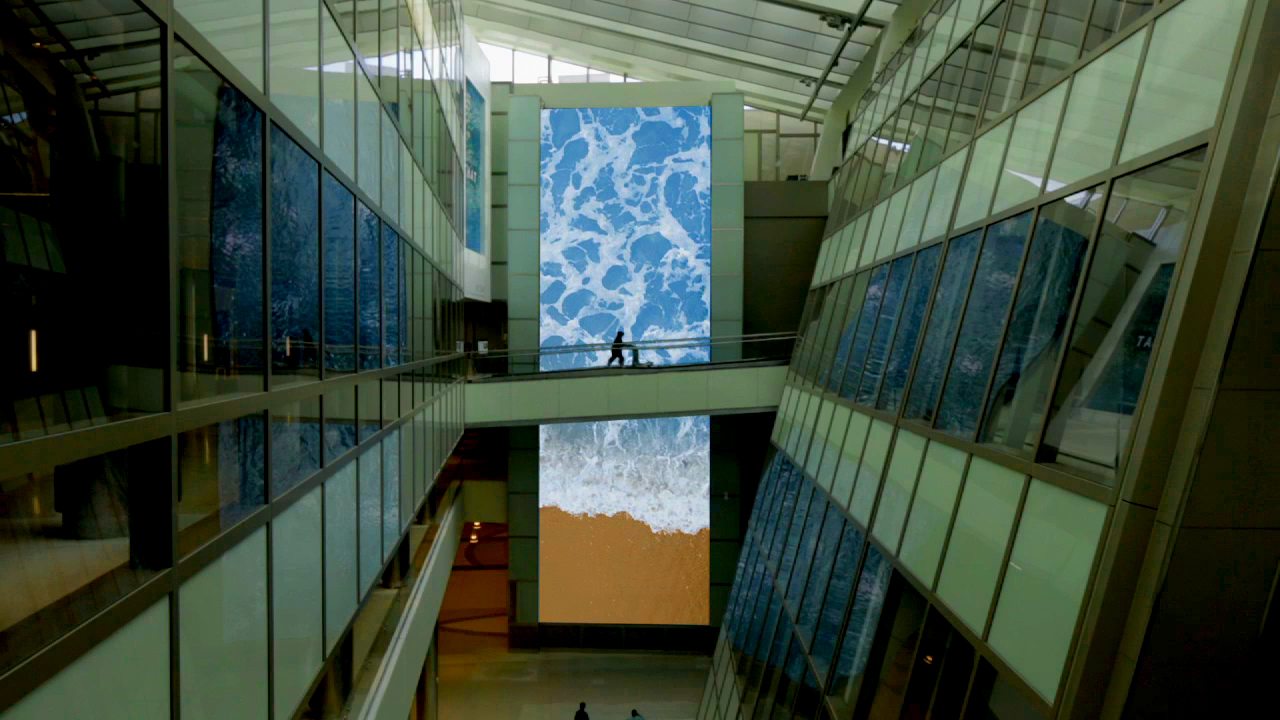 Plains of Yonder LAX Digital Installation 1