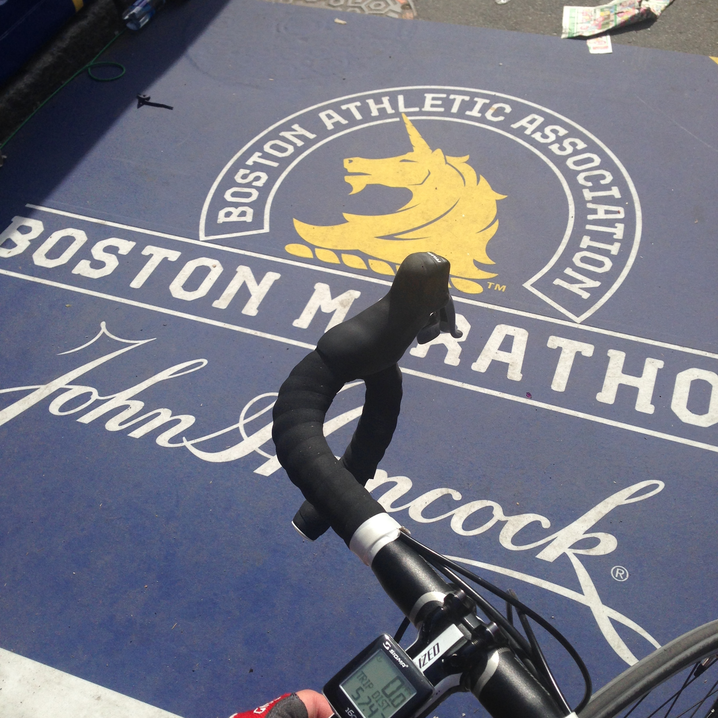 Boston Marathan Finish Line, Boylston St