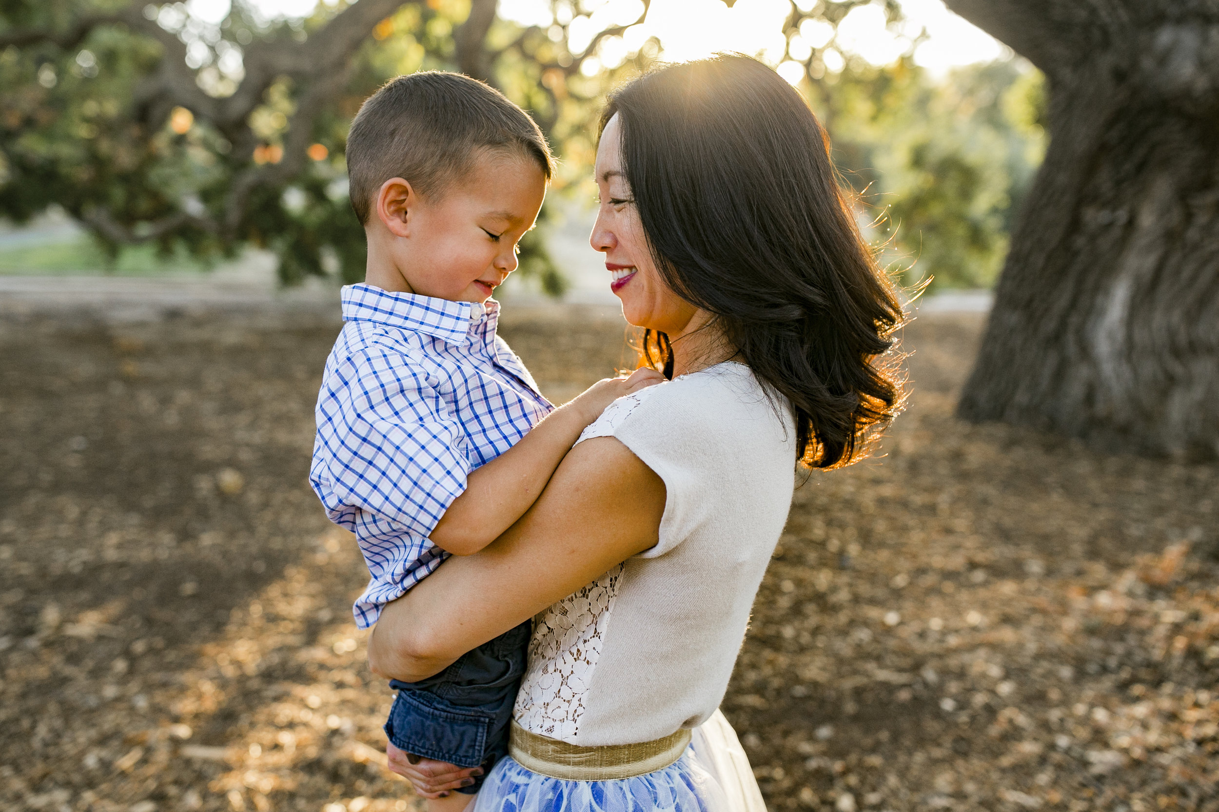 Bre Thurston Photography | San Francisco Bay Area Family Lifestyle Photographer | Outdoors on location with mom and her two sweet boys