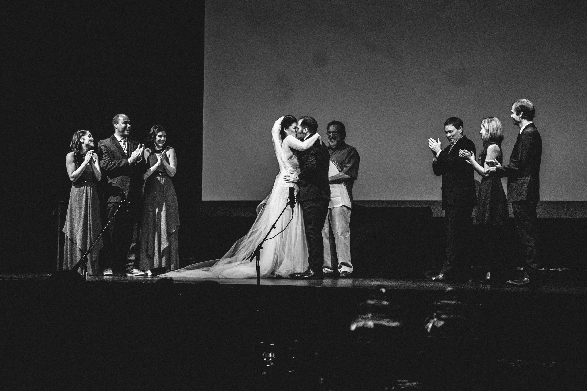 bre thurston photography | san francisco bay area california | wedding photographer | theater venue movie premiere theme wedding