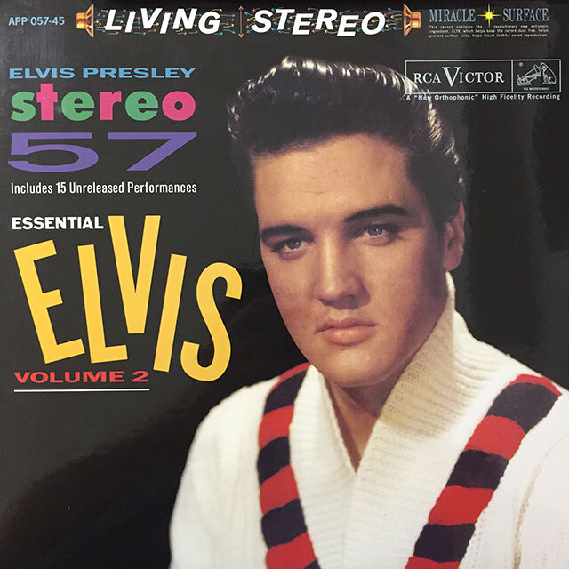 Elvis Presley - Stereo 57: Essential Elvis Volume 2. 2015, US. Analogue Productions.