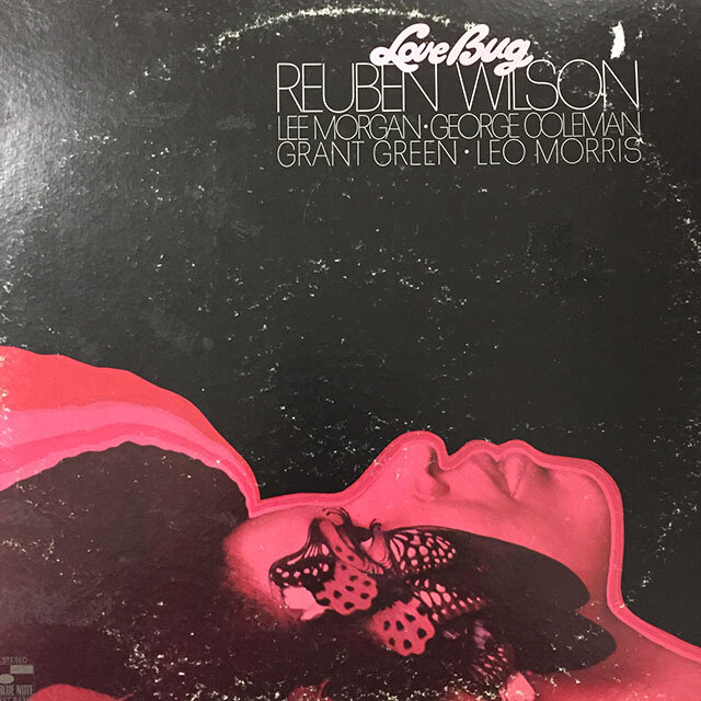 Reuben Wilson - Love Bug. 1969, US. Van Gelder. EX record, VG+ cover.