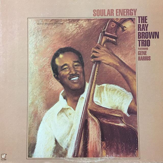 Ray Brown Trio - Soular Energy. 1985, US.