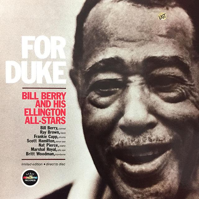 Bill Berry And His Ellington Allstars - For Duke. 1978, US.