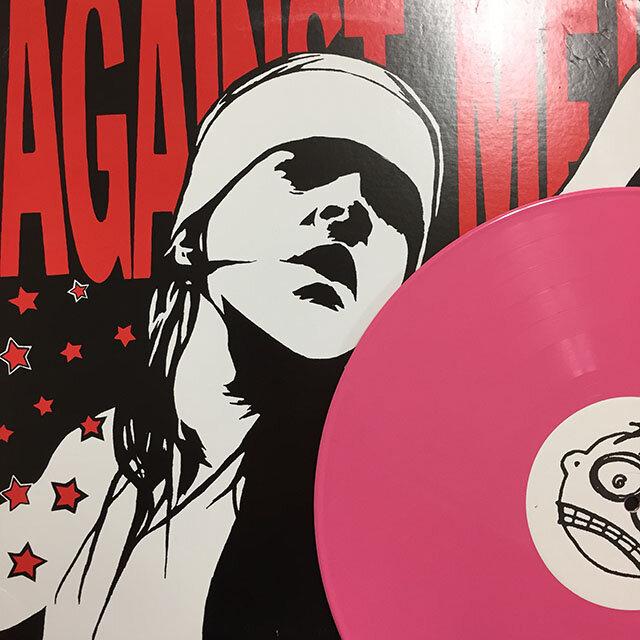 Against Me! - Reinventing Axl Rose. 2003, US. Pink vinyl.