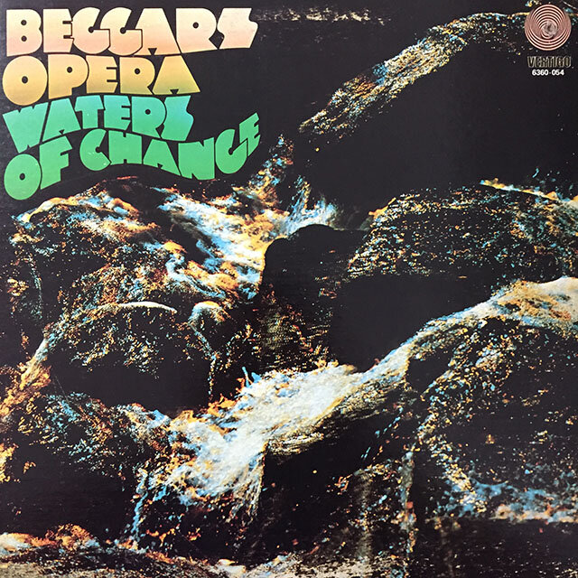 Beggars Opera - Waters Of Change. 1971, CDN. Record is EX, cover is VG.