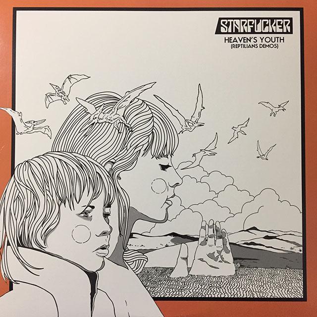 Starfucker - Heaven's Youth: Reptilians Demos. 2012, US. White vinyl.
