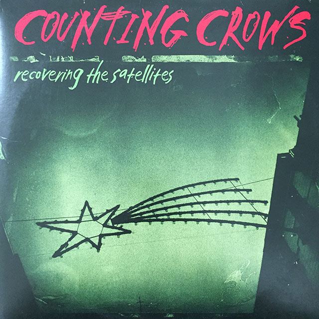 Counting Crows - Recovering The Satellites. 1996, US. VG+.