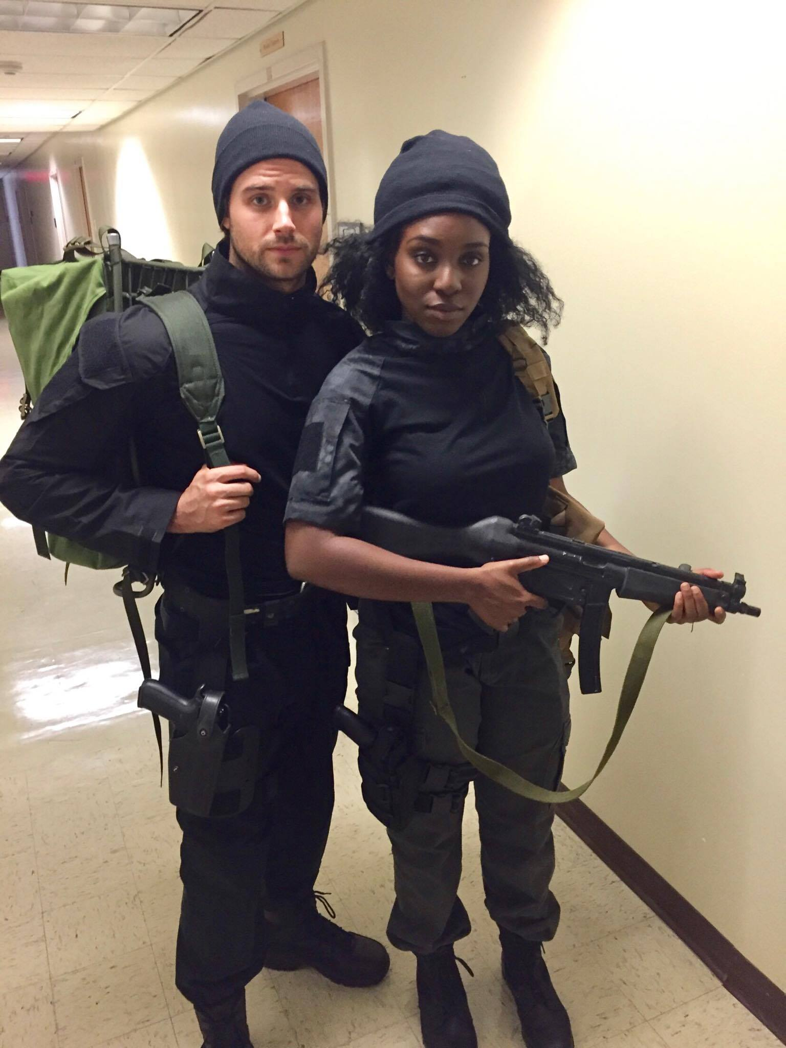 Actors are fully outfitted for their next scene thanks to the work of DKA active Alex Simon, who planned the costume design for the whole series.