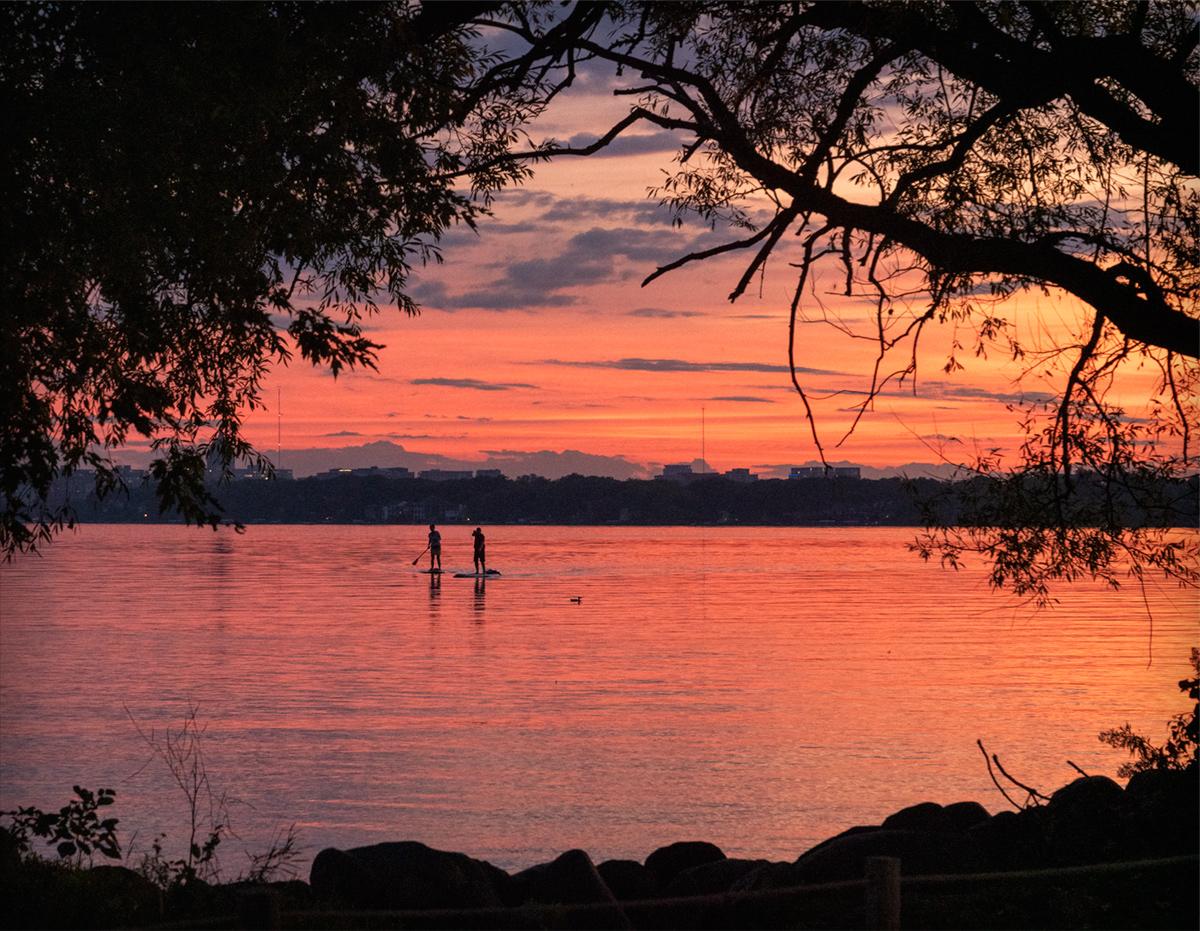 Sunset on Lake Monona