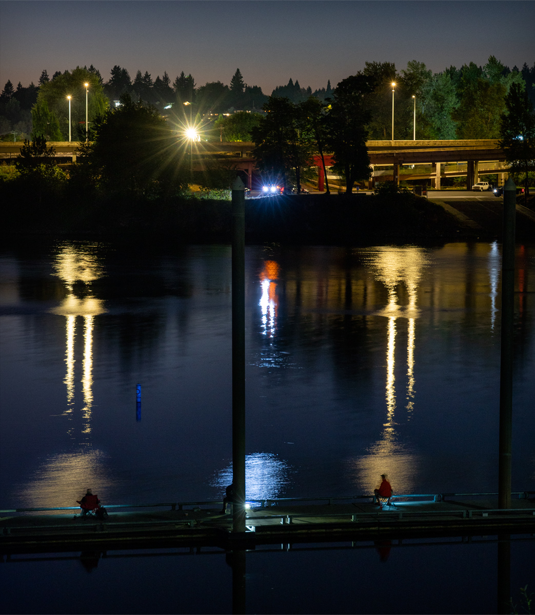 Night Fishing in Salem
