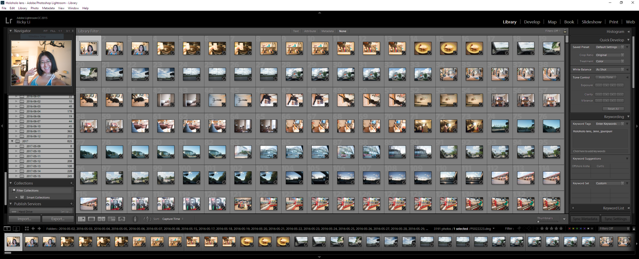 My lightroom is still generating previews and compressing the DNGs!