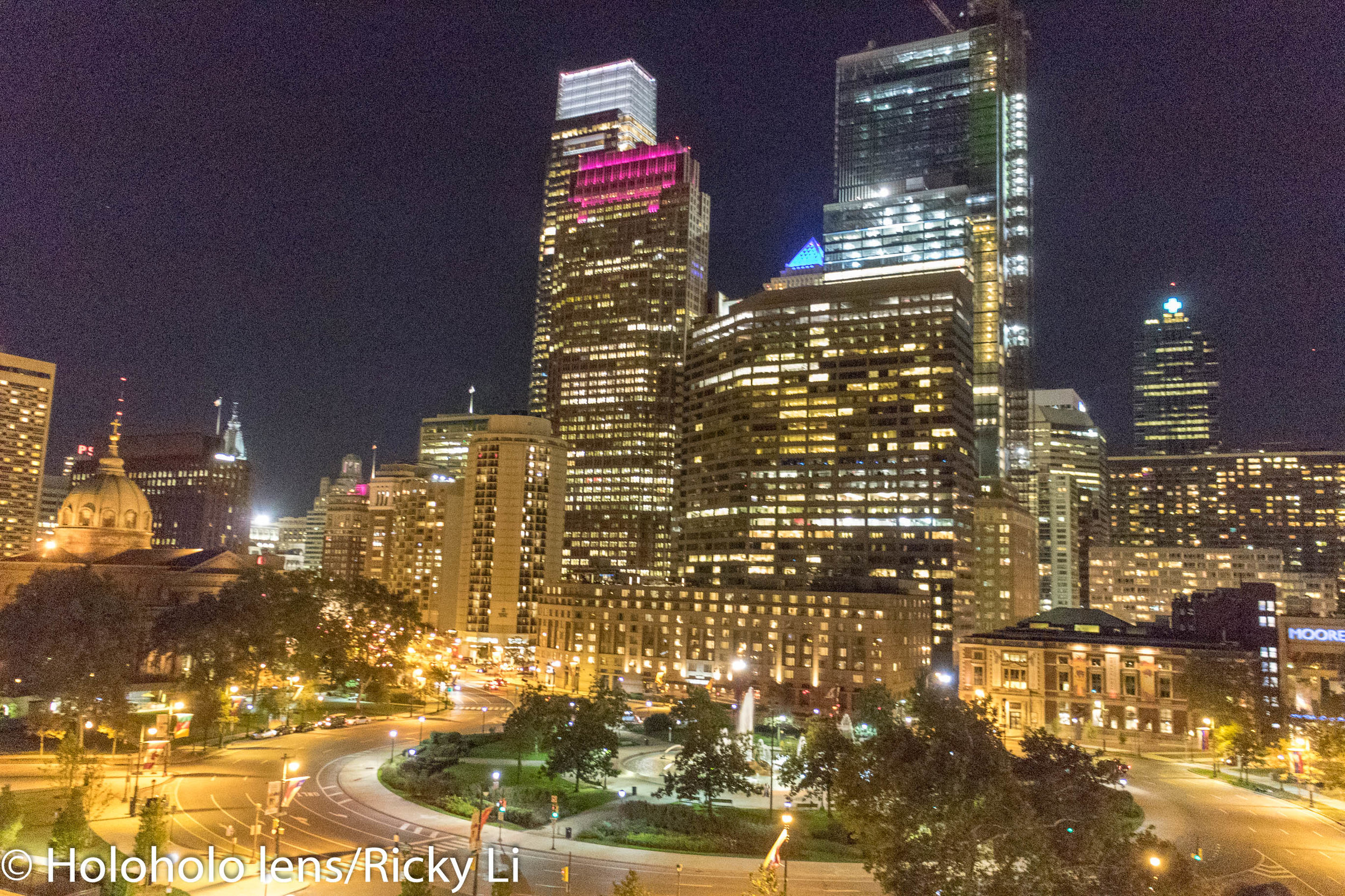 Kristy's time with Holoholo lens in Philadelphia