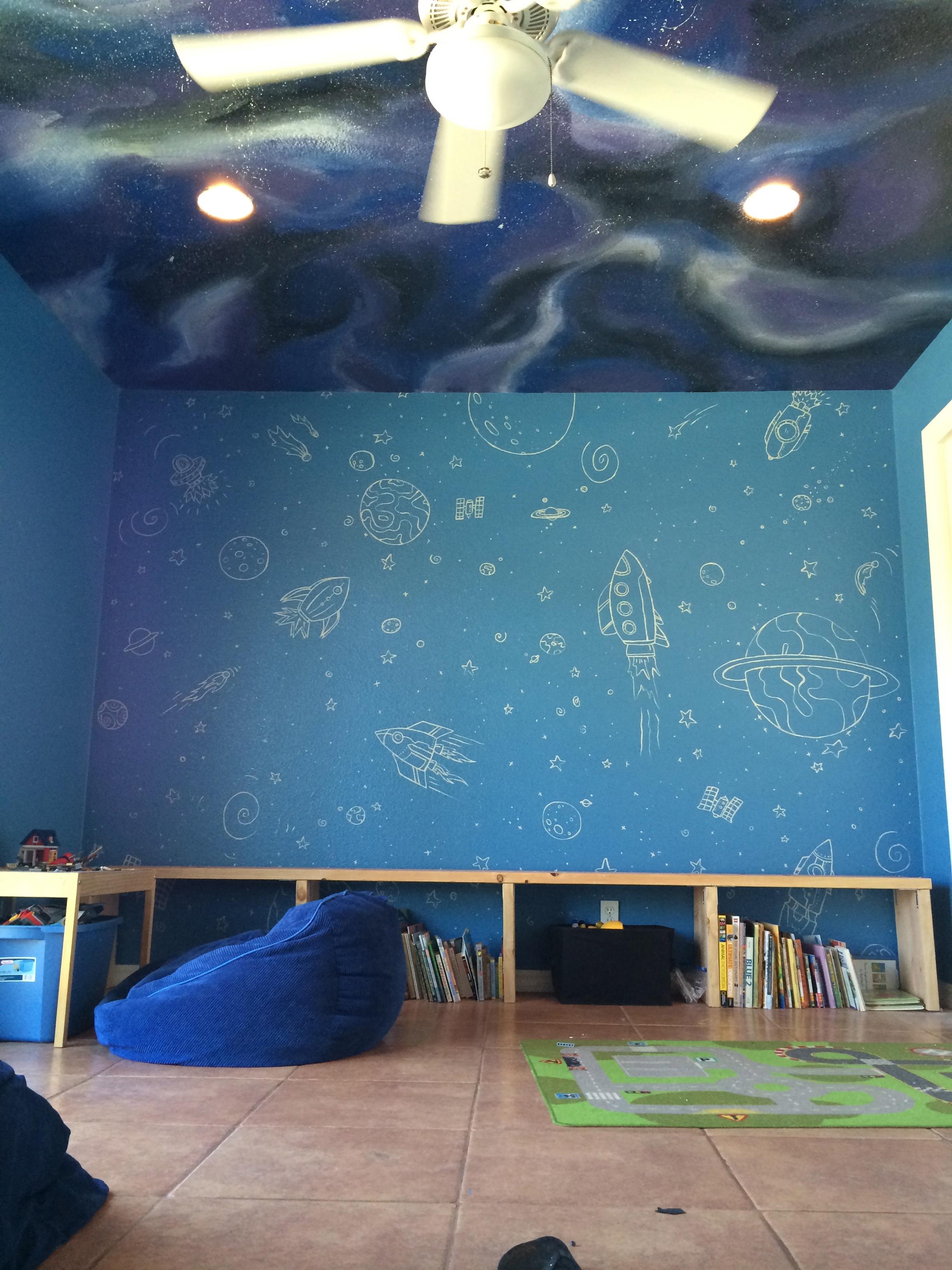 Fontana Painting Murals Kids Rooms Faux Finish Nursery