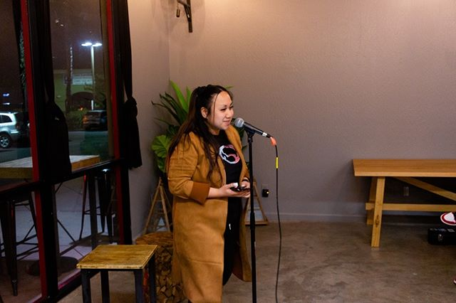 Shout out to @soundslikekg for coming through and peforming for us back in February! :) Always fun having her rock the stage with us!