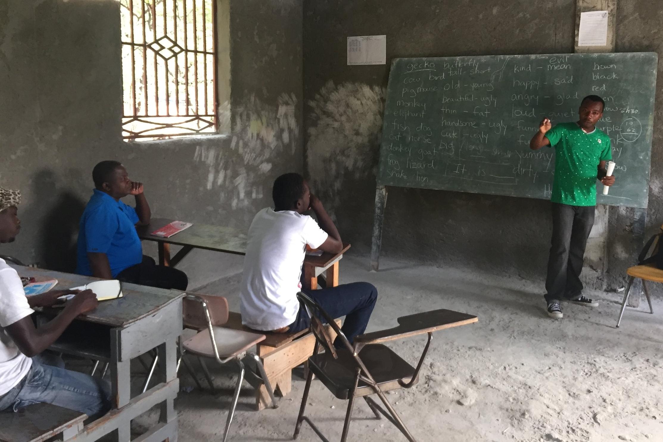 Haiti Job Skill Training