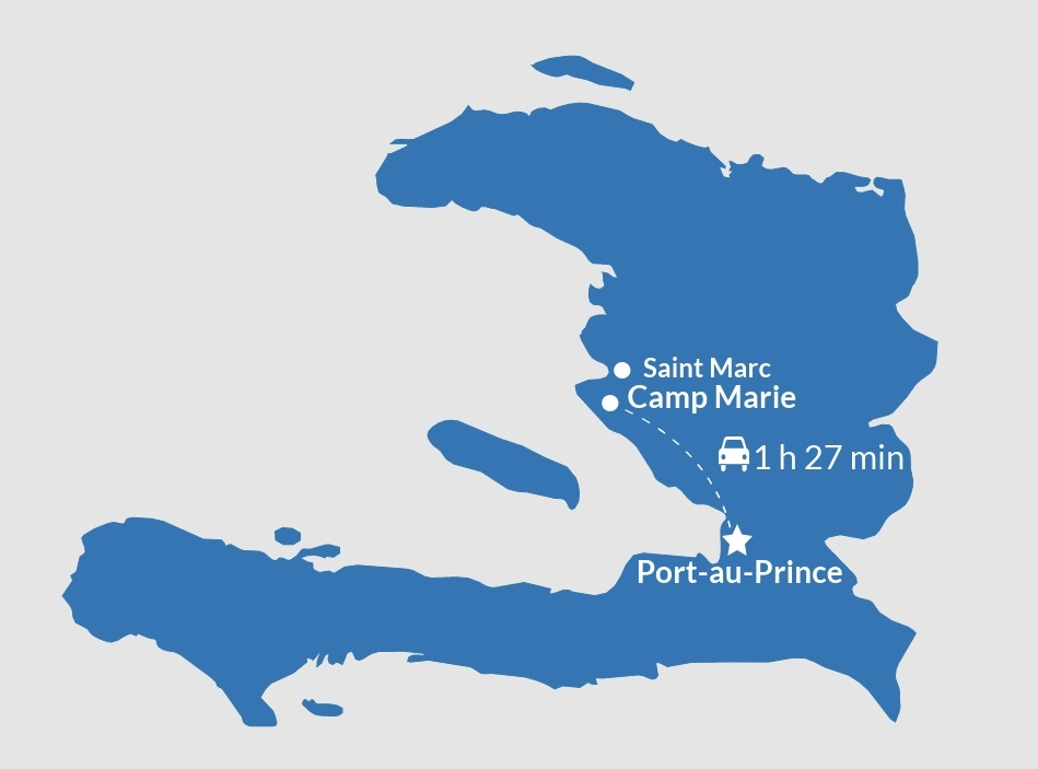 Haiti Map, Ministry, Mission, Jobs, Community, Empower.