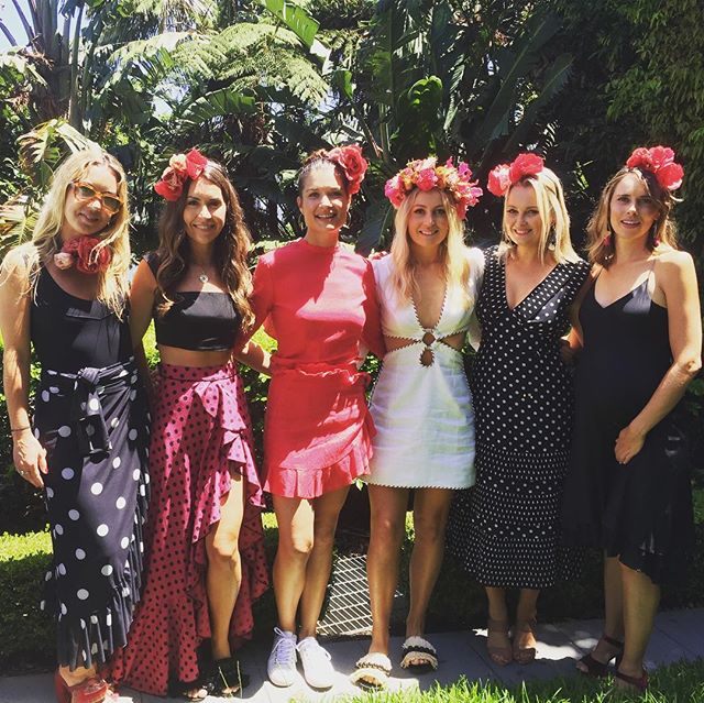 Bridal Party Goals... 💪🏼🥂👌 Not a bad bunch to be walking down the aisle with in 9 weeks.  @lucywadsworth @samanthastroop @tamieingham @gemmamcfarland & Tilly 💕 #littleluluswedding #marriage #hensday #fiestaparty