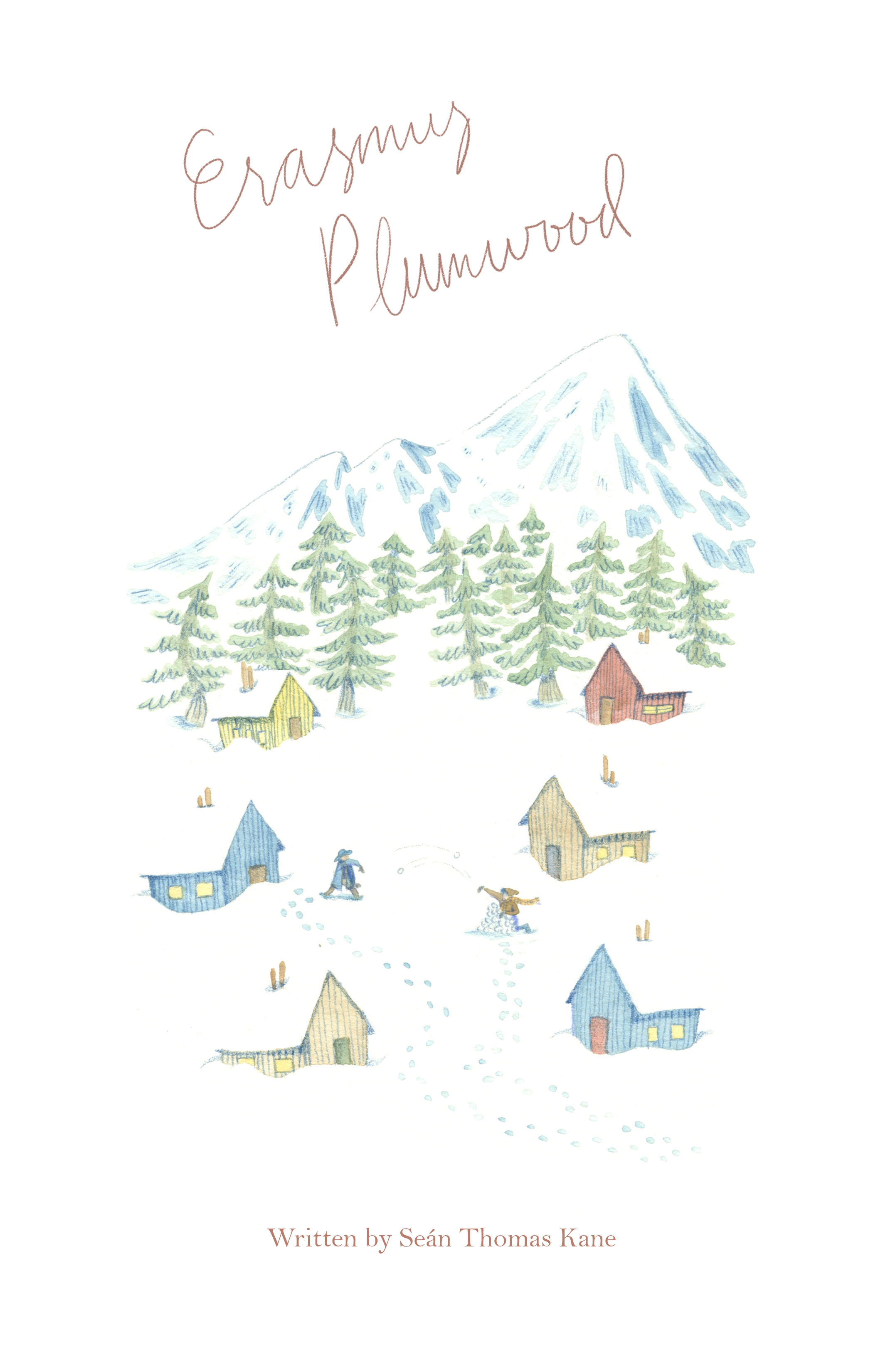 ERASMUS PLUMWOOD - This delightful story about two friends on a trip in New Hampshire was illustrated by Emily Henebrey and is now available on Amazon.
