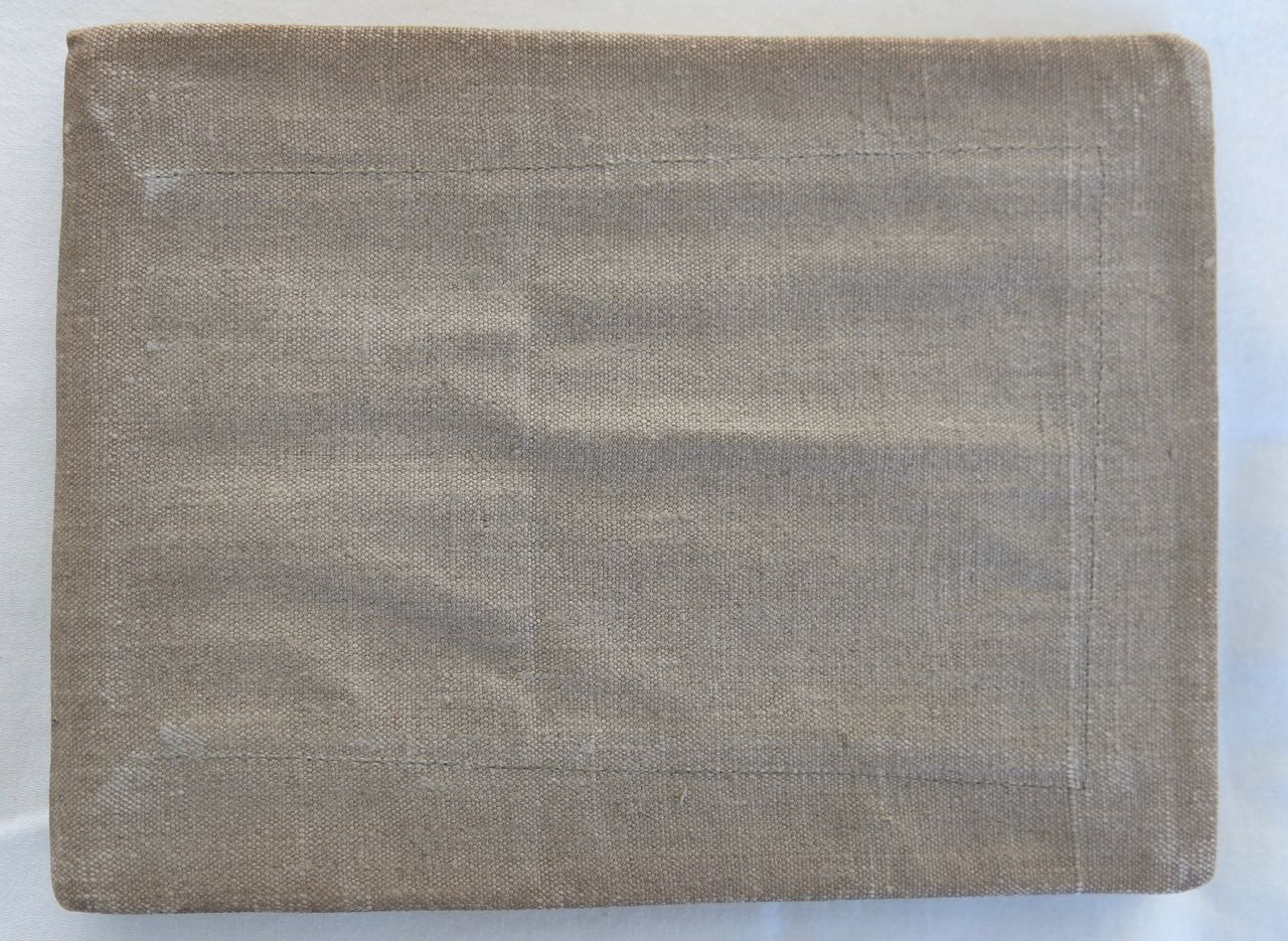 George Stanley's NCC Grey Book - Calais 1916 - 1917