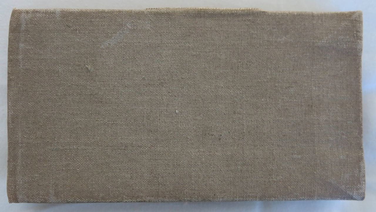 George Stanley's NCC Grey Book - Guard Room Abancourt 1917