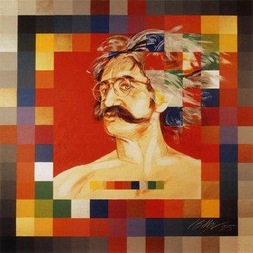 Selbstportait, Peter Bolliger, 1995