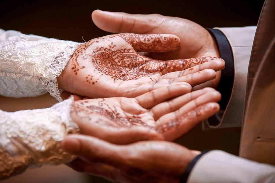 Reservoir hills islamic centre muslim bride mendhi