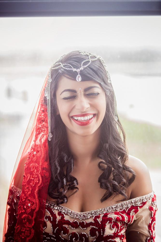 grand manor gardens wedding rbadal photography tongaat indian bride laughing